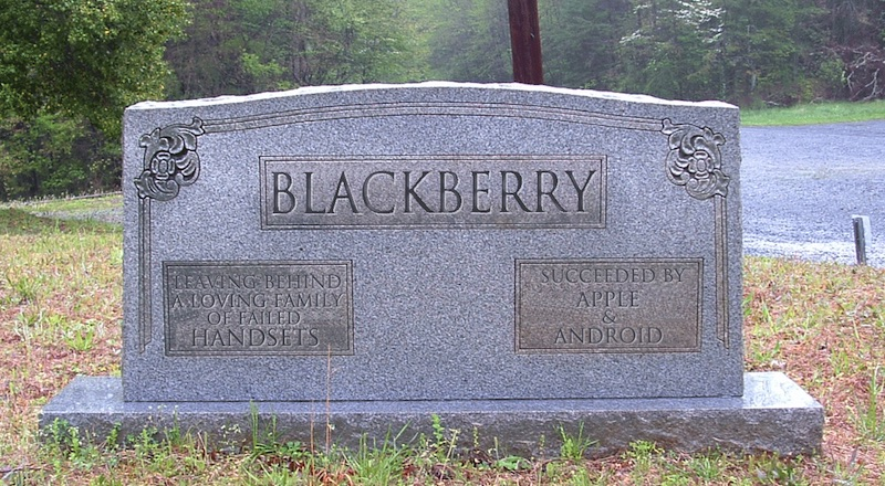 BlackBerry OS y Windows Phone han muerto