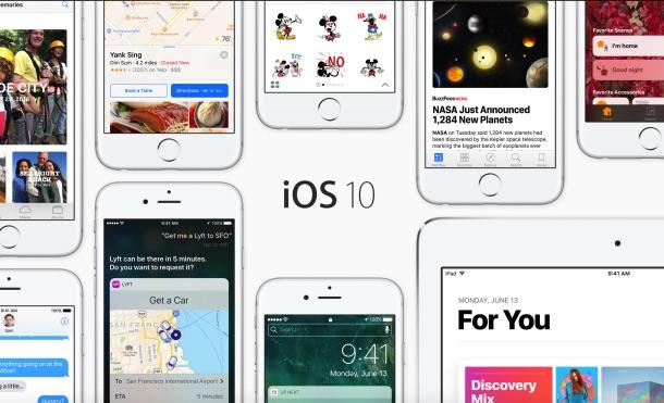 Apple presenta el nuevo iOS 10 e incluye diez grandes mejoras